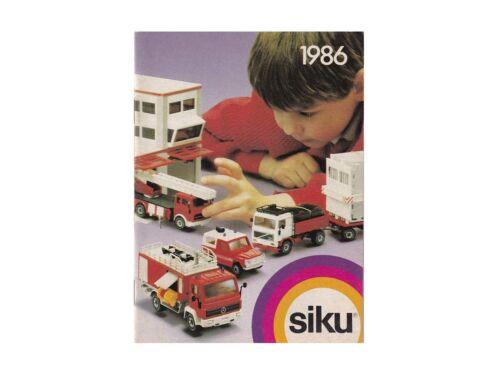 Siku Katalog 1986-9861