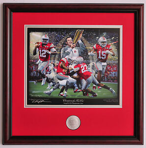Ohio-State-2014-National-Championship-Game-vs-Oregon-Framed-amp-Matted-print