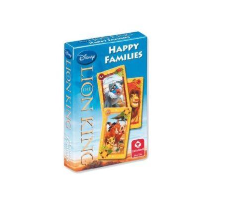 The Lion King Kartenspiel Happy Families  Quartett