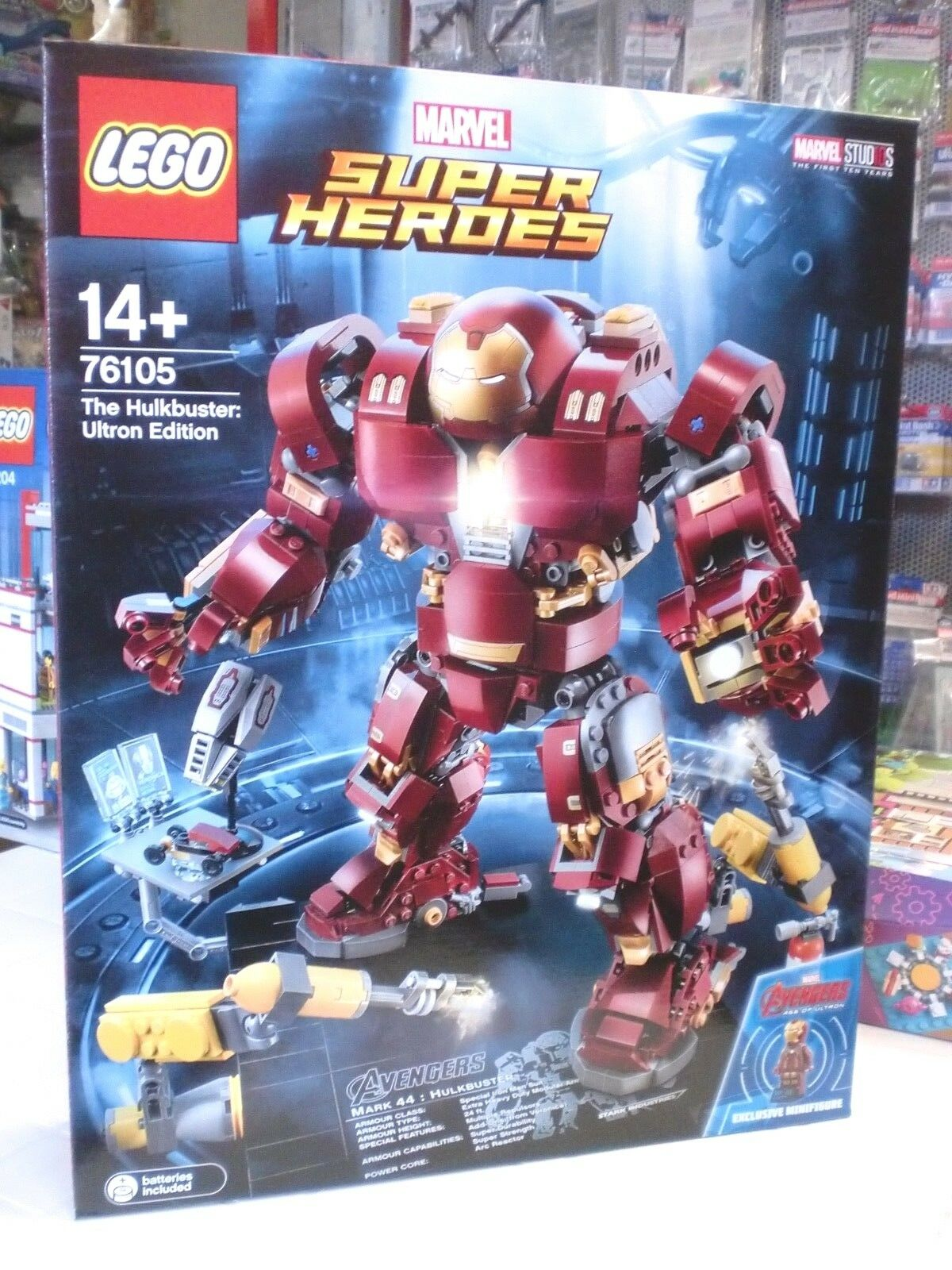 LEGO 76105 - THE HULKBUSTER ULTRON EDITION EDITION EDITION - SERIE SUPER HEROES cada44