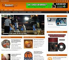 Basketball Niche Blog Established Profitable Turnkey Website For Sale