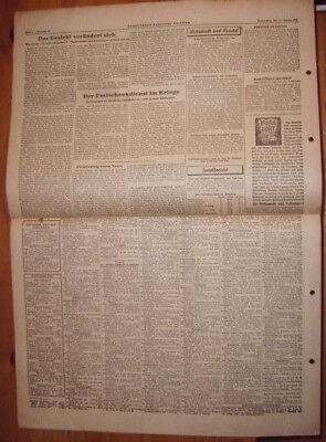 Augsburg Zeitung 11.1.1945 Schwaben Tageszeitung Gut FüR Antipyretika Und Hals-Schnuller