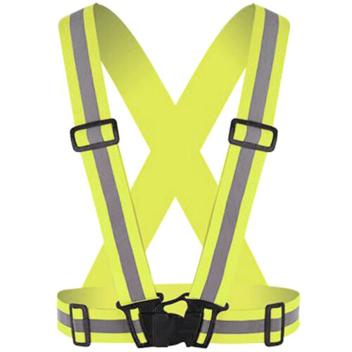 Sicherheit Reflektoren Warnweste Körpergurt Laufen Sports Gürtel Reflektierender