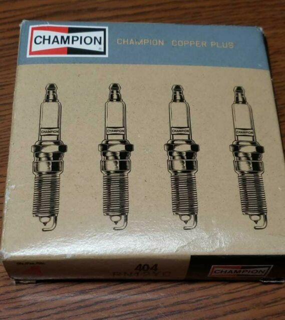 Copper Plus Replacement Spark Plug, Champion Spark Plug Champion RN12YC 404 Pack of 1