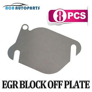 Duramax egr blocker plate install
