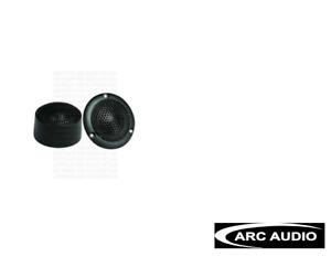 """Arc Audio Black 1.0 Car Tweeters (PAIR) 1"""" - NEW"""