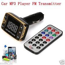 MP3 Player Wireless FM Transmitter Modulator Car Kit USB SD TF MMC LCD Remote US