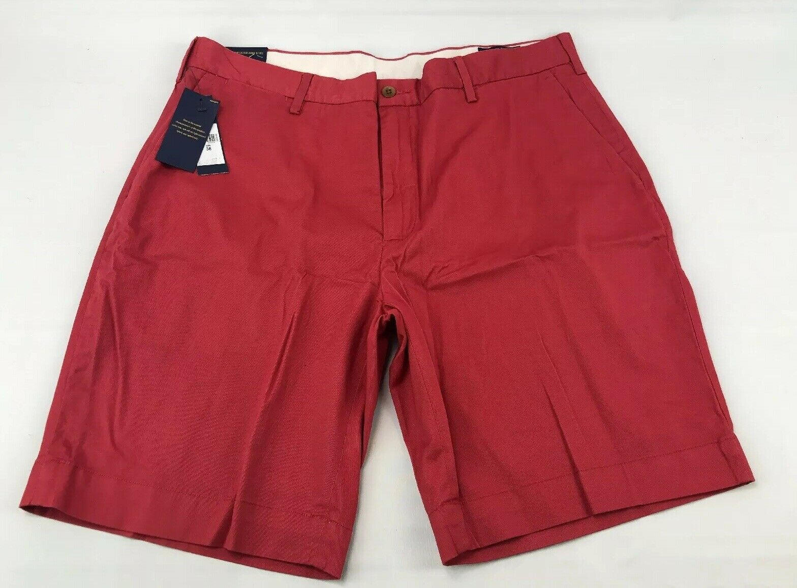 NWT Polo Ralph Lauren Size 36WClassic fit Shorts Light Red E1