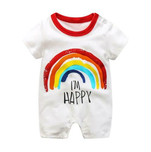 1pc baby boys girls clothes summer rompers soft cotton boys kids summer bodysuit