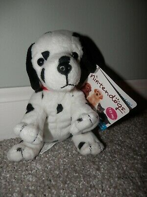 Nintendogs Plush Mini Jack Russell Terrier Puppy Dog Bean Stuffed Nintendo  2007