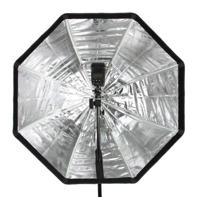 "32"" 80cm Octagon Umbrella Softbox Reflector For Flash Speedlight Studio lighting"