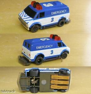 Details about 1991 TYCO TCR Race Track Chevy VAN Slot less JAM Car Unused  +Warms Up Track! A++