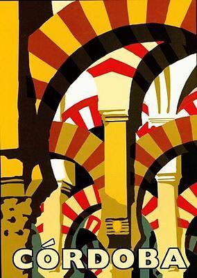 Vintage Spain Tourism Poster A3 Print