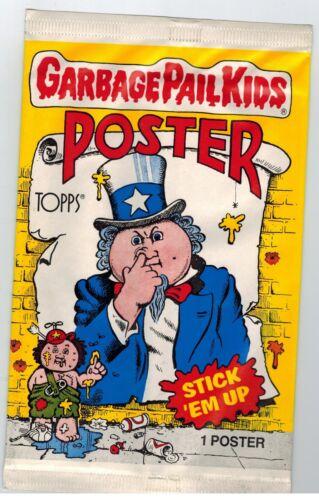 NON OUVERT 1986 TOPPS Garbage Pail Kids Poster Box 36 Packs GPK 12X17
