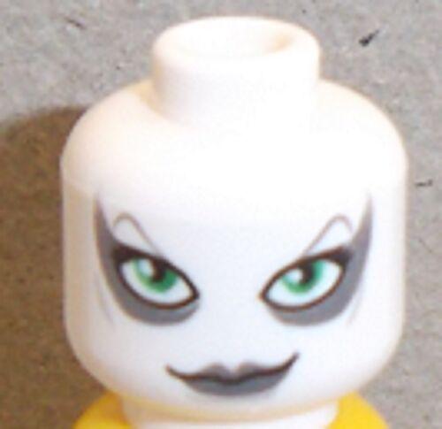 Lego Aurra Sing Head x 1 White Star Wars Head for Minifigure