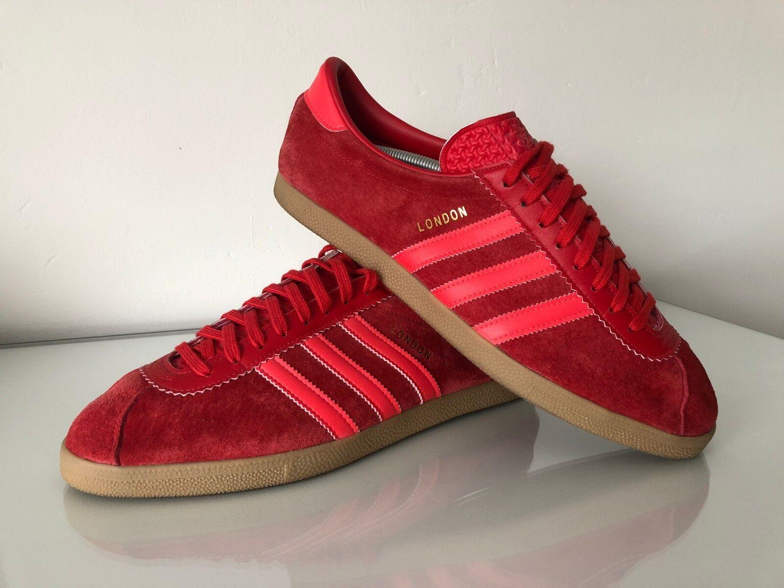 Adidas Originals RARE Rosso 11 London