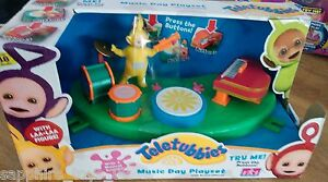 Details about TELETUBBIES MUSIC DAY PLAYSET WITH SOUND EFFECTS - box damage  - no demo battery