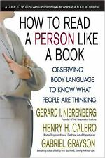 How to Read a Person Like a Book : Observing Body Language to Know What...