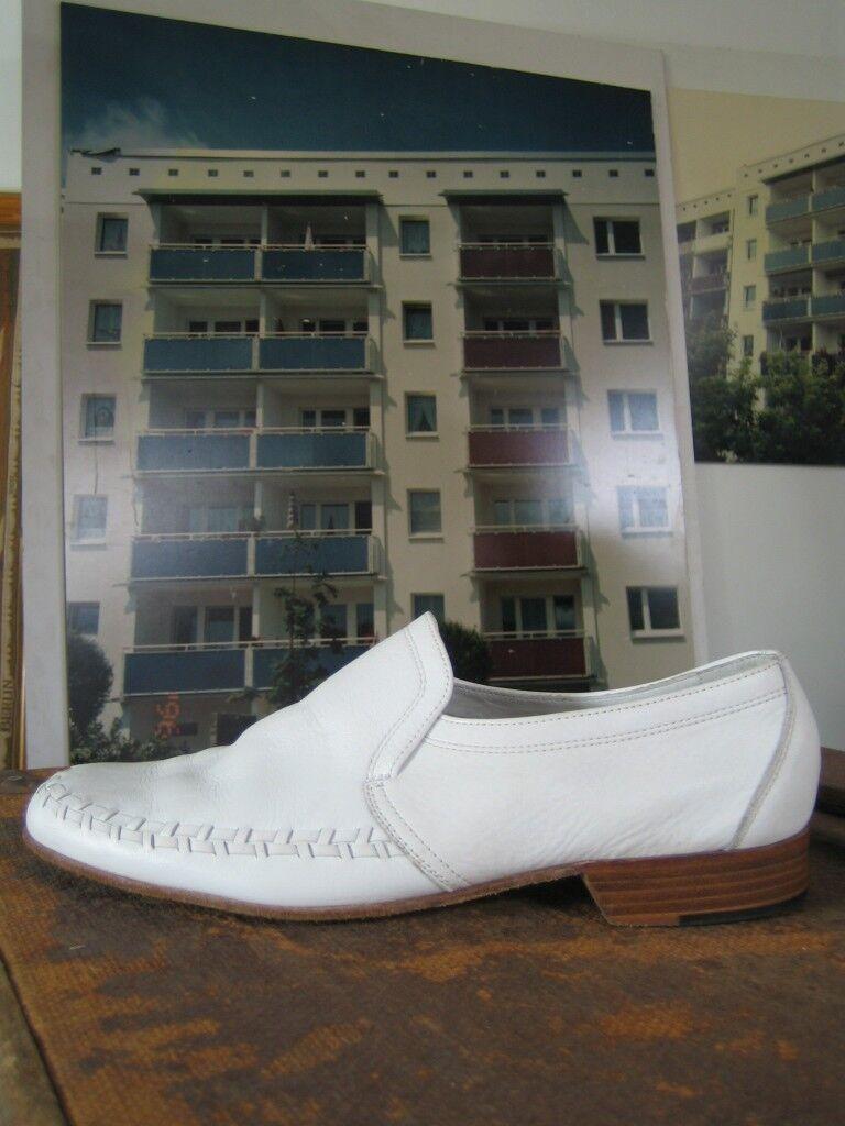 Herren Halbschuhe BALLY Camping made suisse Slipper 90s TRUE VINTAGE UK 8 Loafer