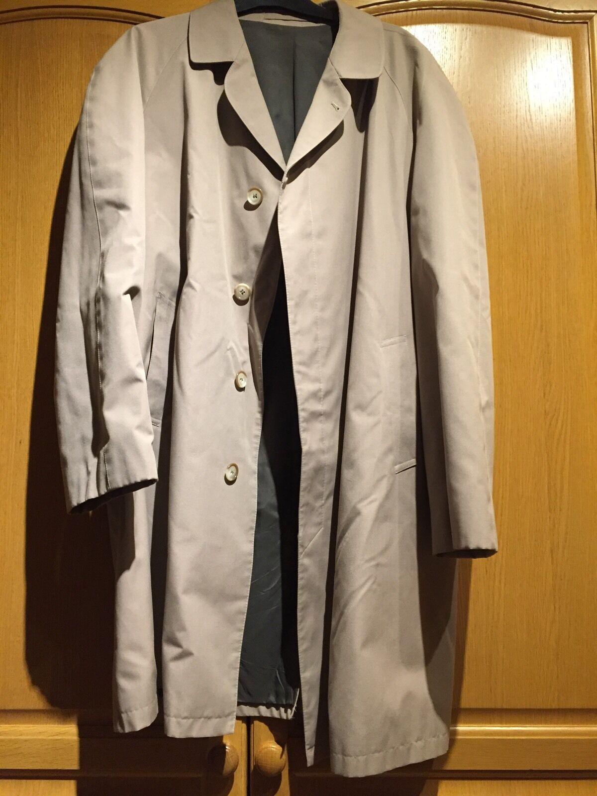 Austin Reed Shower Resistant Raincoat Mac Mens XXL