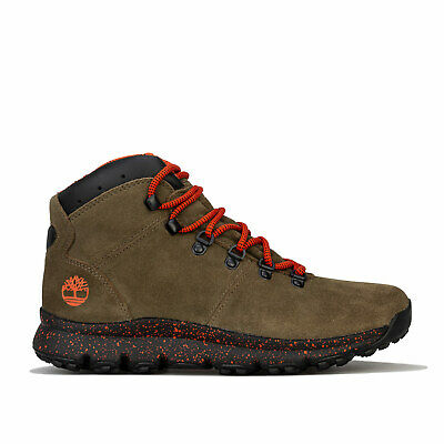 Timberland Boots World Hiker Mid Kaki Homme   eBay