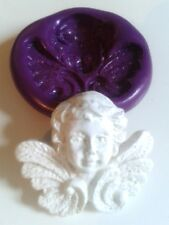 Winged ANGEL Silicone Mould 28mm - Sugarcraft Cake Decorate Polymer Clay Icing