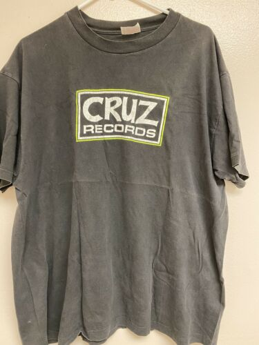 Cruz Records shirt Vintage SST Black Flag