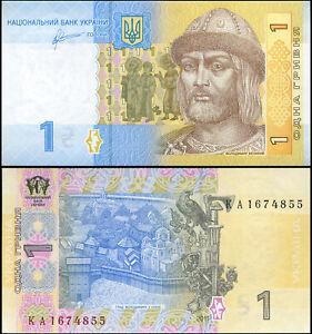 Ukraine 1 Hryvnia. NEUF 2011 Billet de banque Cat# P.116Ab