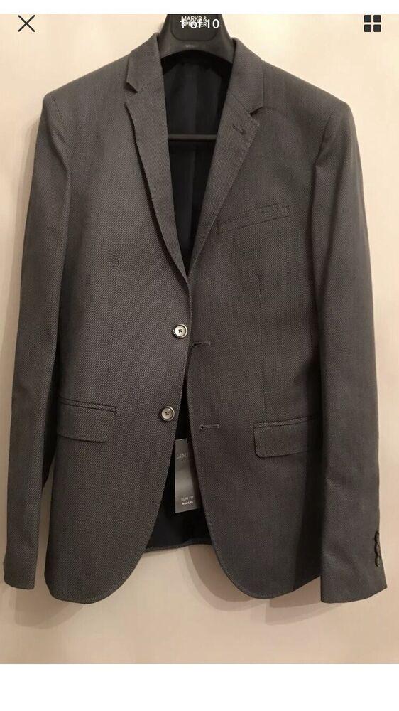 """Bnwt M&s Ltd Collection Blazer Veste De Tailleur Taille 36"""", Moyen,"""