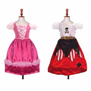 4-6-Jahre-Wendbar-Prinzessin-Piraten-Kinder-Kostum-Buch-Woche-Party