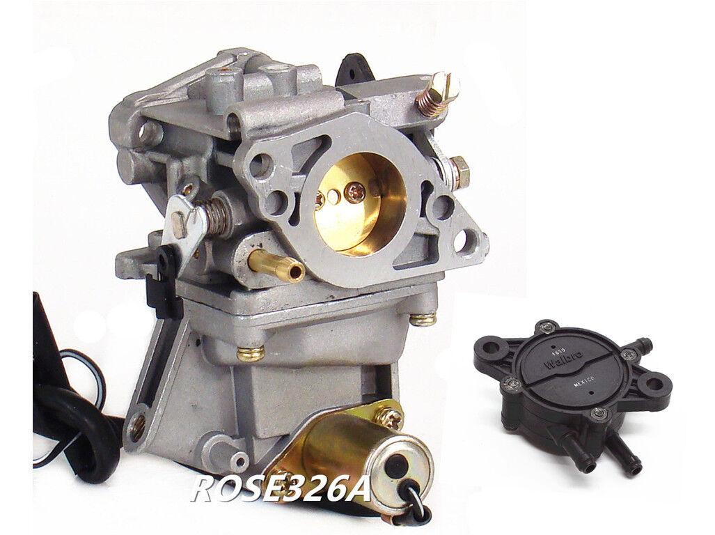 Carburetor & Fuel Pump For Honda GX610 18 HP GX620 20 HP Horizontal Shaft  Engine