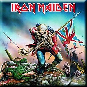 Iron-Maiden-The-Trooper-square-steel-fridge-magnet-75mm-x-75mm-ro