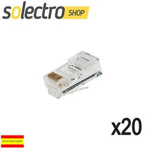 20x-Conectores-Clavija-conector-RJ45-8p8c-Red-ETHERNET-para-CRIMPAR-K0221