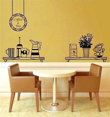 Kitchen Wall Transfer ra243 Large Art Decor Utensils Kitchen Wall Sticker