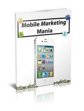 Mobile Marketing Mania Ebook On CD $5.95 Plus Resale Right Free Shipping