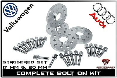 4pc5mm Hubcentric Wheel Spacers5x100 /& 5x112CB 66.56mm Audi VW Mercedes