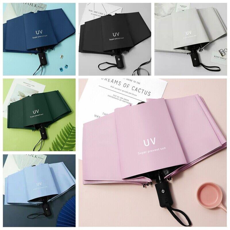 8 bone car luxury windproof automatic double business umbrellas gift parasol