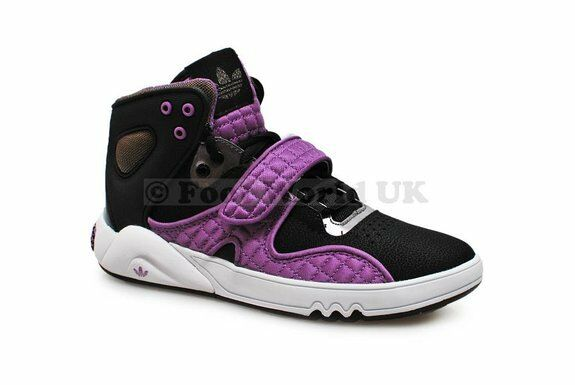 Womens Womens Womens Adidas Round House Mid - G56813 - Black Purple Trainers 589589