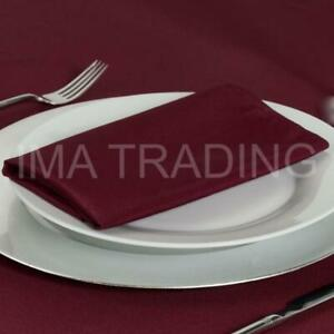 BURGUNDY-TABLECLOTH-TABLE-CLOTH-VARIOUS-SIZES-ROUND-SQUARE-RECTANGULAR