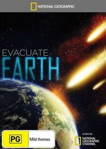 National Geographic - Evacuate Earth (DVD, 2014) New  Region 4