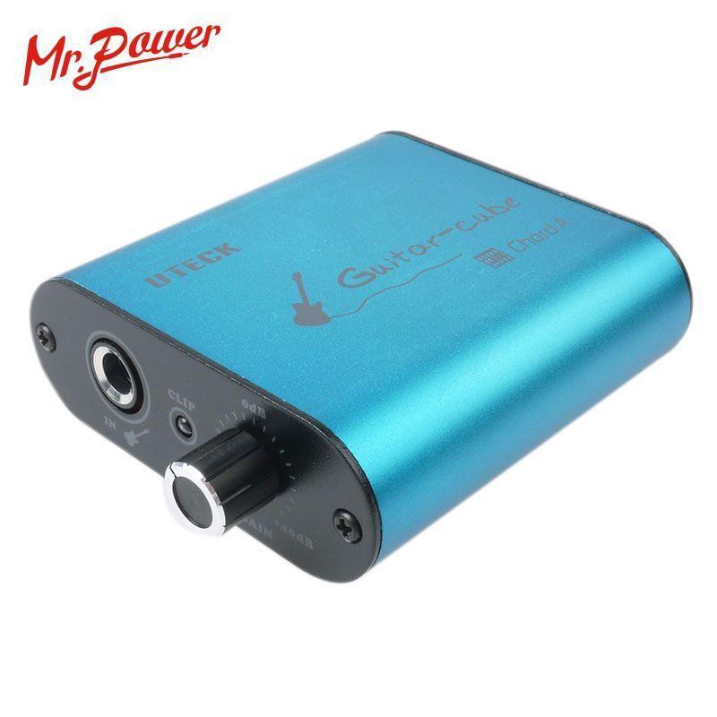Cuerda De Cubo De Guitarra Cable de de de interfaz de audio USB Adaptador Cable de grabación de enlace Pc Mac  orden en línea