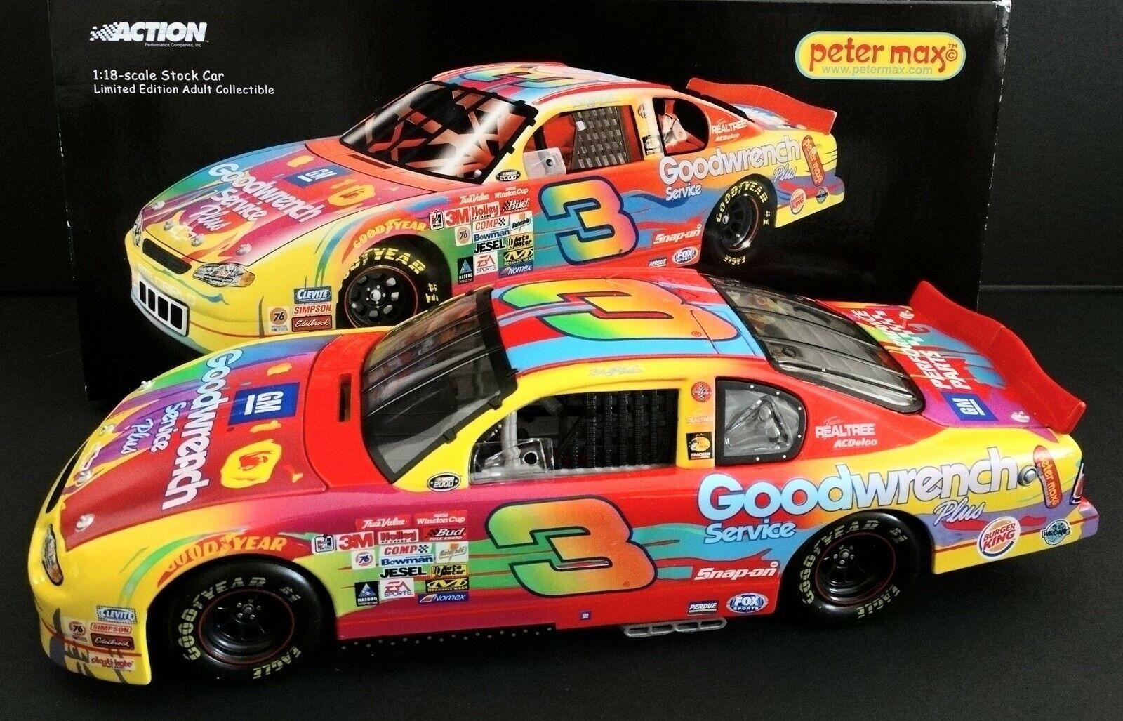 Dale Earnhardt, Sr  3 Gmgwsp 1 18 Wirkung 2000 Peter Max Chevy Monte voiturelo