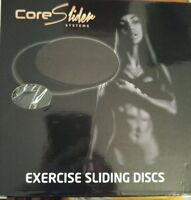 Core Slider Systemsblack Core Sliders Disc - Dual Sided Core Sliders Exer