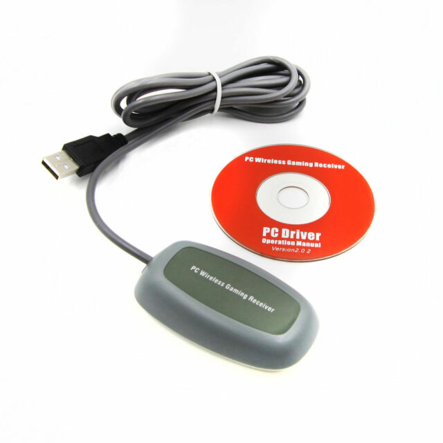 PC Wireless Gaming USB Game Receiver Adapter Xbox360 Xbox 360 Controller