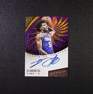De-039-Aaron-Fox-Revolution-Rookie-Autographs-2017-18-Sacramento-Kings-Kentucky-RC