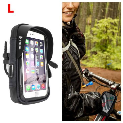 """6/"""" Imperméable Moto Vélo Guidon Support Téléphone Porte-smartphone Pour iPhone B"""