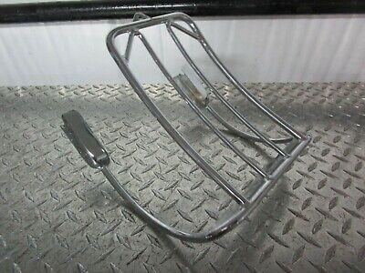 Chrome Bikers Choice Luggage Rack 02-05 HARLEY FXDWG