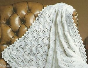 6658f522d96d VINTAGE KNITTING PATTERN FOR BABY   BABY S GORGEOUS SHAWL   BLANKET ...