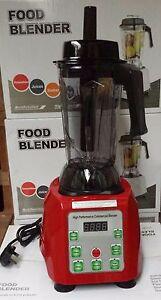 Franc Commercial Alimentaire Blender Fruit Smoothie Maker 2.5l Carafe-afficher Le Titre D'origine Avec Le Meilleur Service