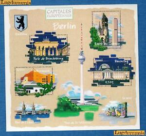 France-Bloc-N-88-Capitales-Europeennes-Berlin-2005-Neuf-Luxe